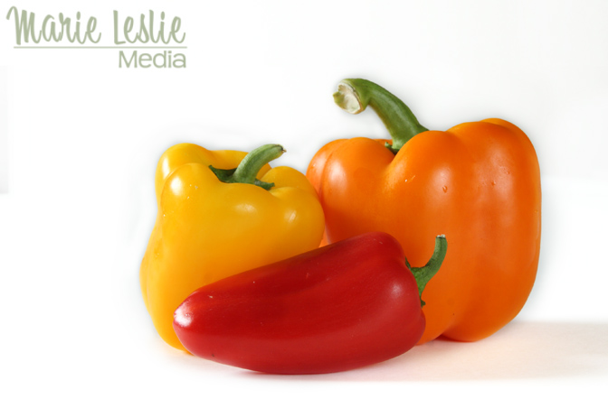 denver food photographer, food photography, bell peppers