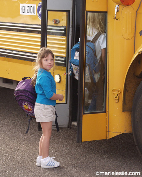 back to school first day of kindergarten