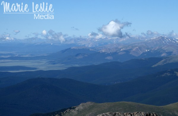 Panoramic view of the Rocky Mountains