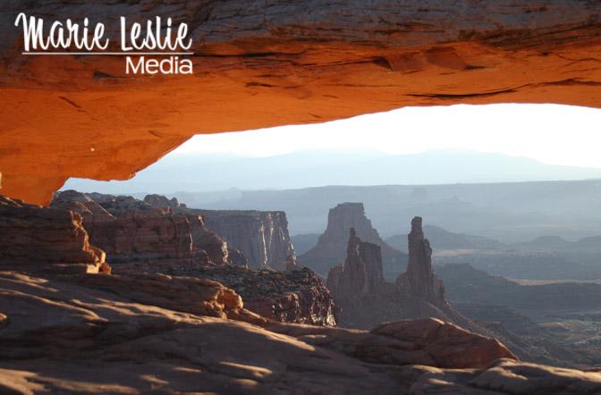 mesa arch, sunrise, canyonlands national park, moab, utah