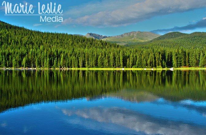 Echo Lake, Colorado Rocky Mountains