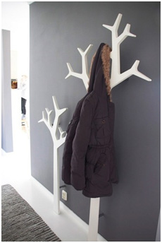 Coat Hanging Solutions creative kids' room storage solutions