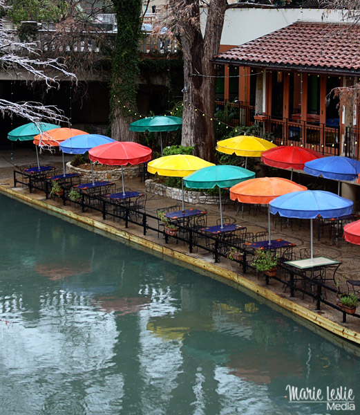 umbrellas, riverwalk, san antonio