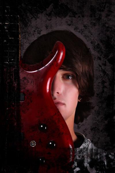 grunge rock guitar, music photography
