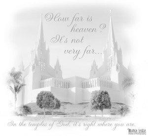 How Far is Heaven? It's Not Very Far. . .