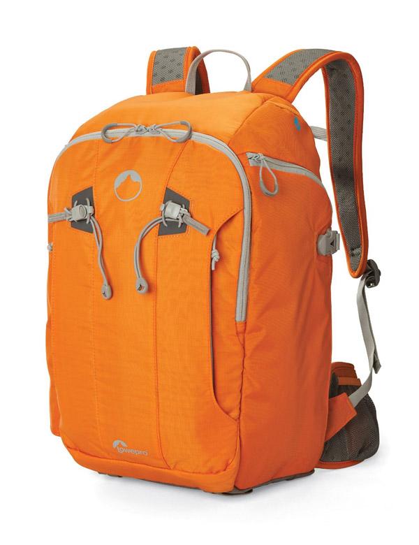LowePro Orange Camera Backpack