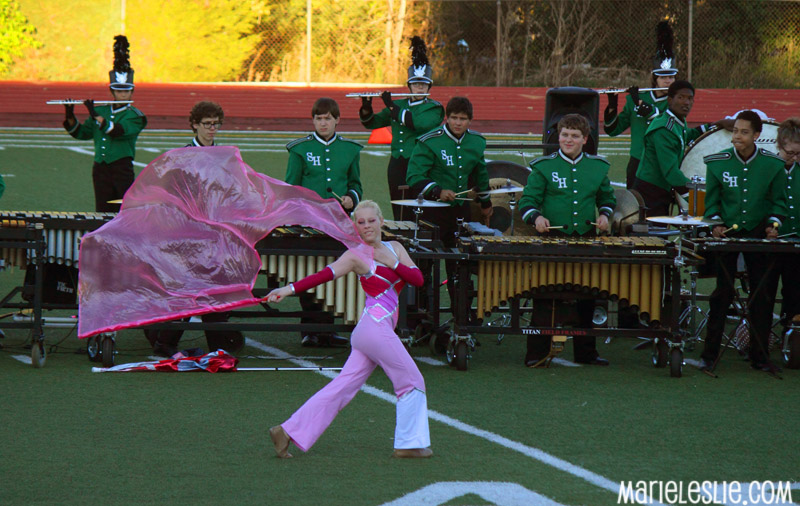 marching band field shows