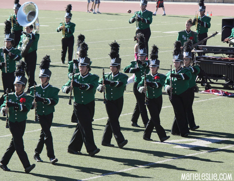 marching band field show