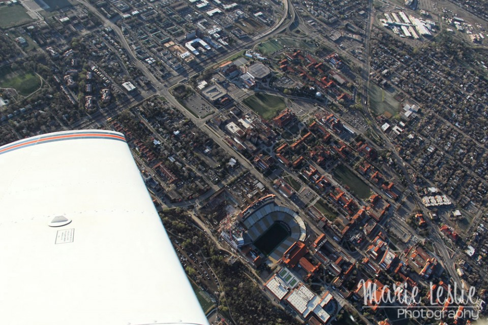 aerial photography university of colorado at boulder